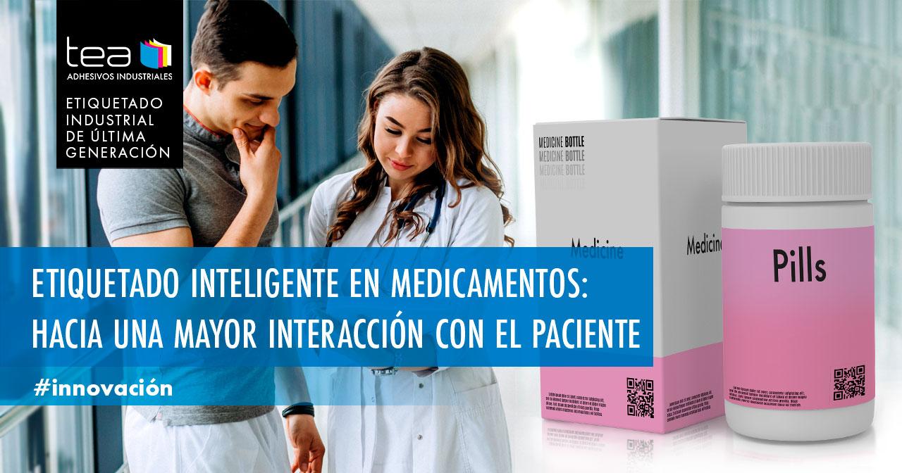 Etiquetado inteligente en medicamentos