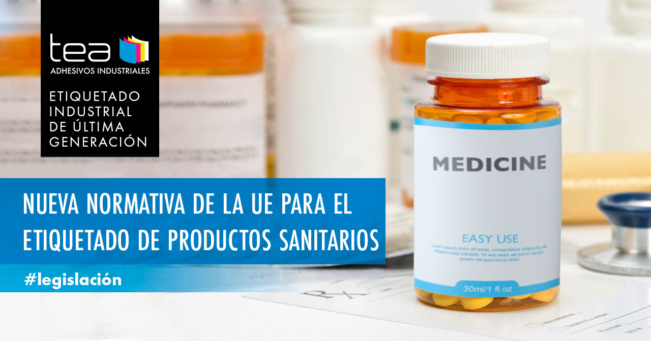 Nueva normativa de la UE para el etiquetado de productos sanitarios