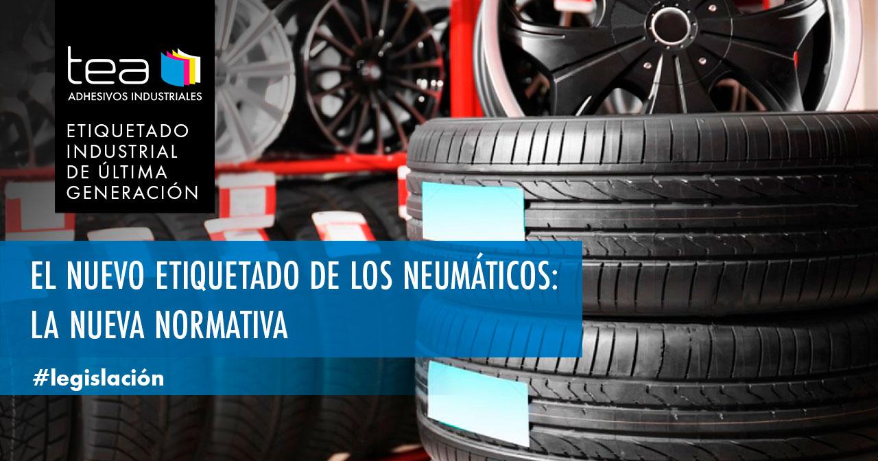 Nuevo etiquetado de neumáticos