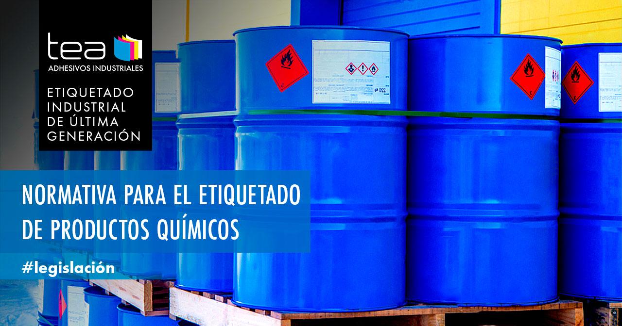 Normativa de etiquetado de productos químicos