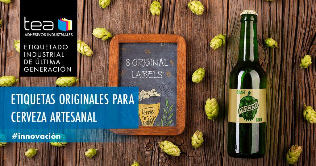 Etiquetas originales de cerveza